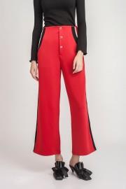 Red Lorraine Pants