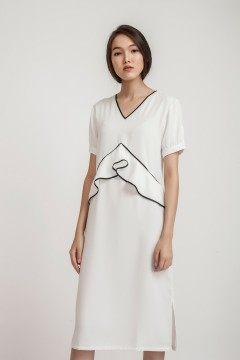 White Kiera Dress
