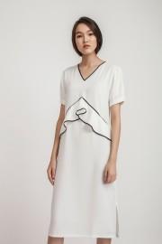 White Kiera Dress