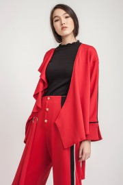 Red Gwenda Outer Top