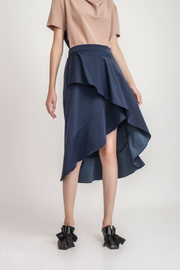 Navy Angie Skirt