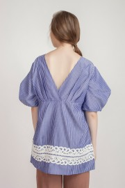 Blue Fiona Top