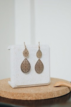 Gold Yuna Earrings