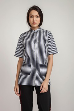 Navy Valda Shirt