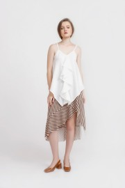 White Edith Top