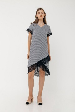 Houndstooth Tessa Dress