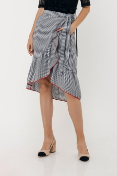 Houndstooth Althea Skirt