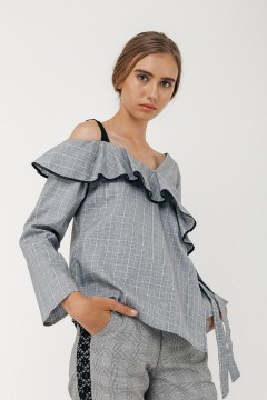 Checked Polina Top