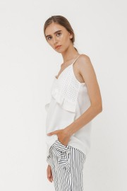 White Jalyn Top