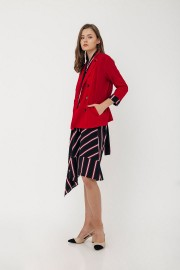 Red Athena Blazer