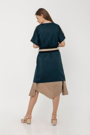 Teal Selby Outer Dress