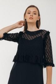 Black Elora Dress Set
