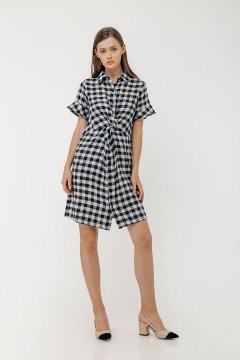 Checked Luna Dress
