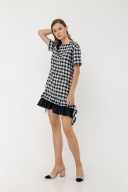 Checked Lenka Dress