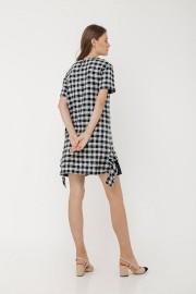 Checked Lenka Dress