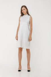 White Cassie Dress