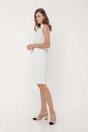 White Cassie Dress