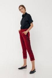 Maroon Zora Pants
