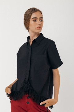 Black Lora Shirt