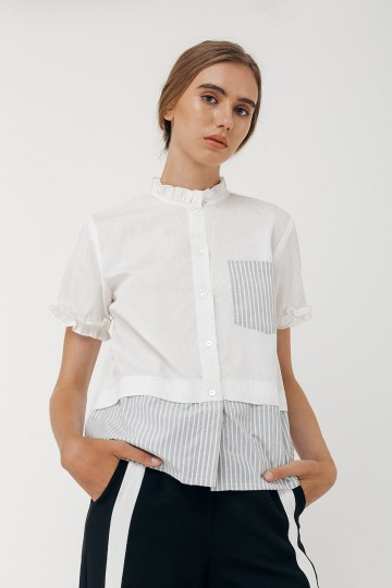 White Darina Shirt