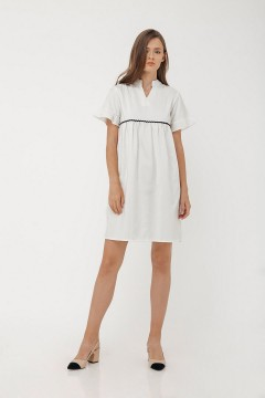White Gera Dress