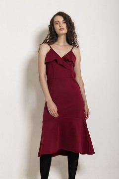 Maroon Punch Dress