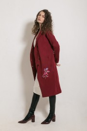 Maroon Peony Outer