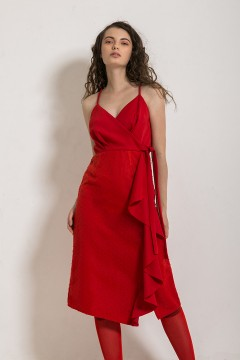Red Cloudia Dress