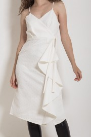 White Cloudia Dress