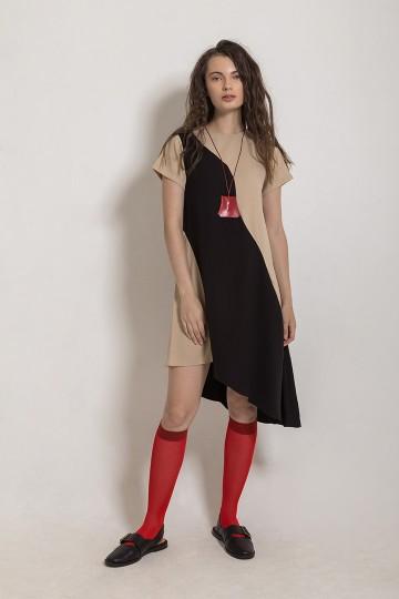 Mix Latte Dress