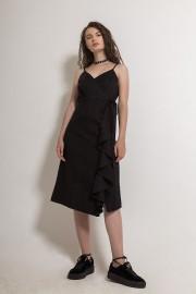 Black Cloudia Dress