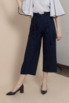 Navy Margery Pants