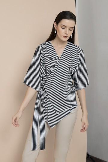 Stripes Ume Kimono