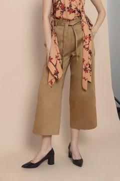 Khaki Margery Pants