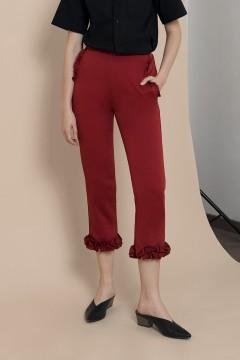 Maroon Lena Pants