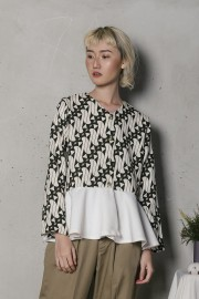 Pattern Davira Outer Top
