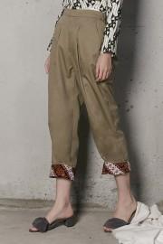 Khaki Ziva Pants (Unisex)