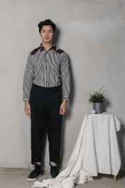 Black Ziva Pants (Unisex)