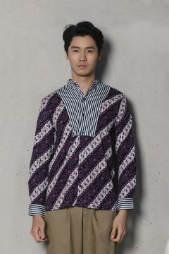 Purple Haikal Shirt