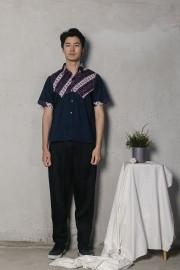 Navy Sandya Shirt