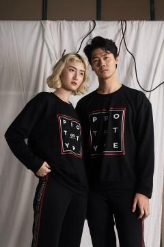 Black Prototype Sweater