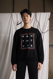 Black Prototype Sweater