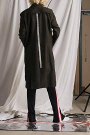 Army Sweat Wool Coat
