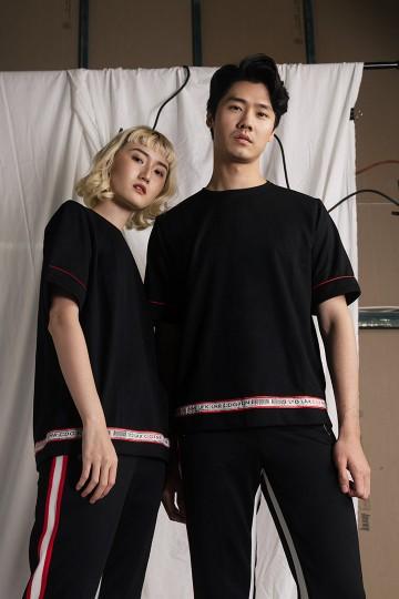 Black Prototype Sweat Tshirt