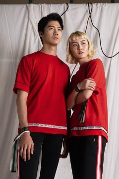 Red Prototype Sweat Tshirt