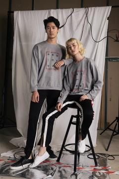 Grey Prototype Sweater