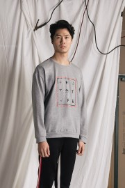 Grey Prototype Sweater