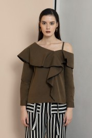 Brown Poppy Top