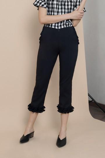 Black Lena Pants