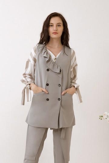 Grey Zola Vest
